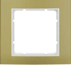 10113046 B.3 Frame 1g Alum Gold/Polar White Matt