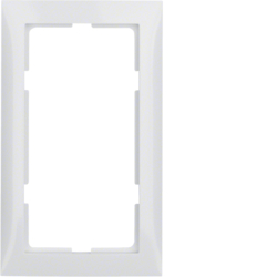 13098989 S.1 Frame,  Large Cut Out,  P/White Glossy