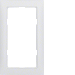13099909 S.1 Frame,  Large Cut Out,  P/White Matt