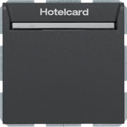 16409906 Hotel card switch electronic S/B anthr.