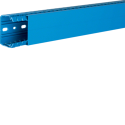 BA740060BL slottet panel trunking BA7 40x60, blue