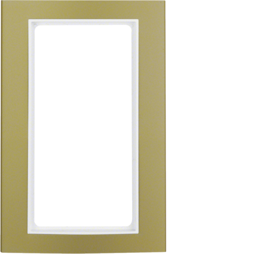 13093046 B.3 Frame Large COAlum Gold/Polar White