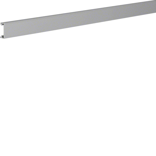 BA70252K slotted trunking lid PVC BA7 25x25mm sg