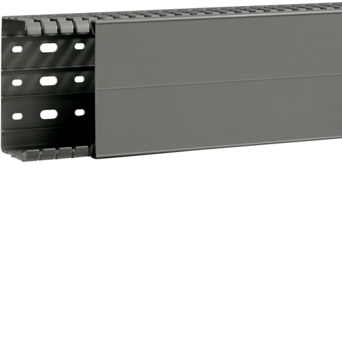 BA7A60100 slottet panel trunking BA7A 60x100, grey