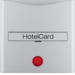 16401404 C/plate for hotel card - B alu