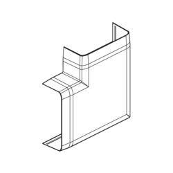 Product Drawing 13 x 52, 2 separator ABS