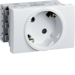 WS171 Socket Schuko for trunking