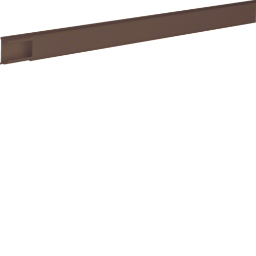 ATA122008014 Trunking 12x20, L=2,1m,  brown