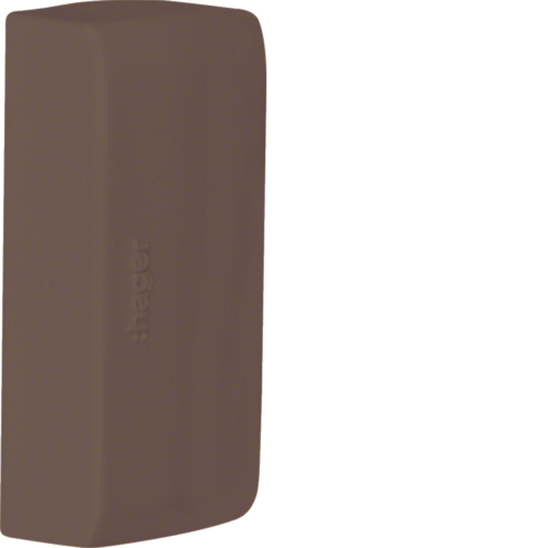 ATA125068014 End cap,  ATEHA, 12x50, brown