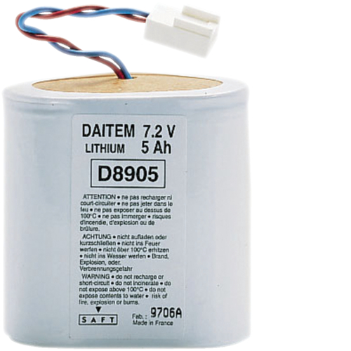 BATLI06 Lithium battery,  7.2 volts,  5 Ah