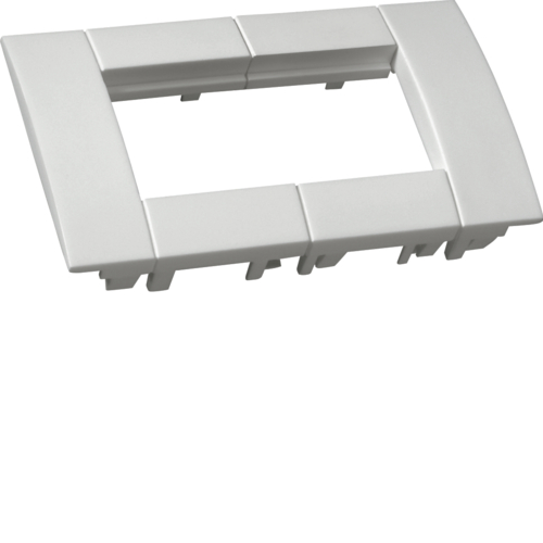 GT4529010 Outlet box 2 pang 45x45x pure white