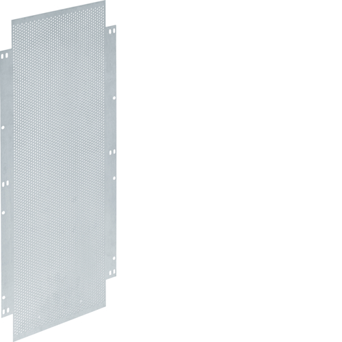 UZ41M6 Mounting plate,  univers, 570x247mm,  punch.