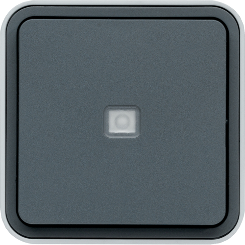WNC003 cubyko 2W SW control light wall M grey