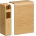 SL200556D5 End cap for tehalit.SL 20x55mm oak