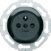WMV100N 1930 Socket outlet with earth pin