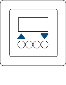 C | KNX radio blind time switch on blind insert comfort